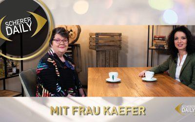 Geldwäsche im Porzellanladen? – Frau Kaefer & Kerstin Scherer im Interview