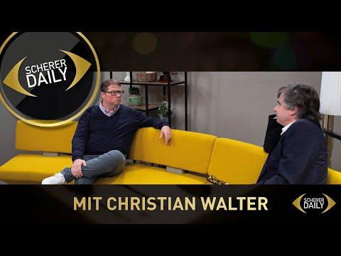 Scherer Daily – Keine Angst vorm Scheitern mit Christian Walter